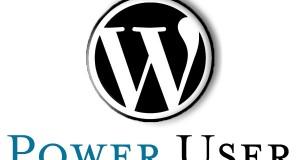 Wordpress-LogoPowerUser